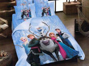 Set lenjerie Frozen 100% bumbac