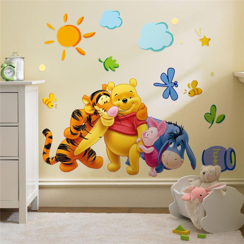 Sticker perete Winnie si prietenii