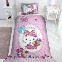 Lenjerie patut copil Hello Kitty, lenjerii paturi copii Disney, seturi lenjerii copii